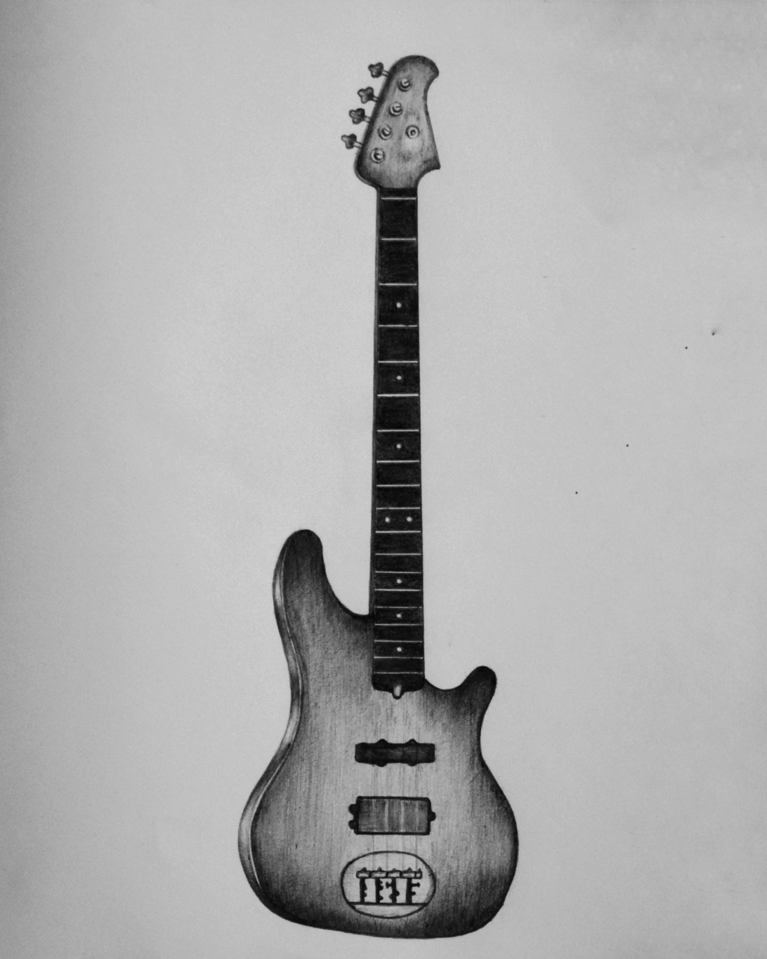 drawing guitar black and white guitar drawing at getdrawings free download drawing guitar