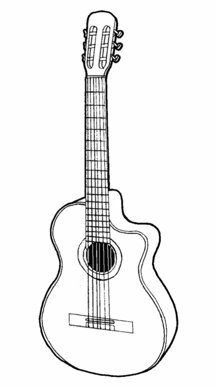 drawing guitar cartoon guitar drawing at getdrawings free download drawing guitar