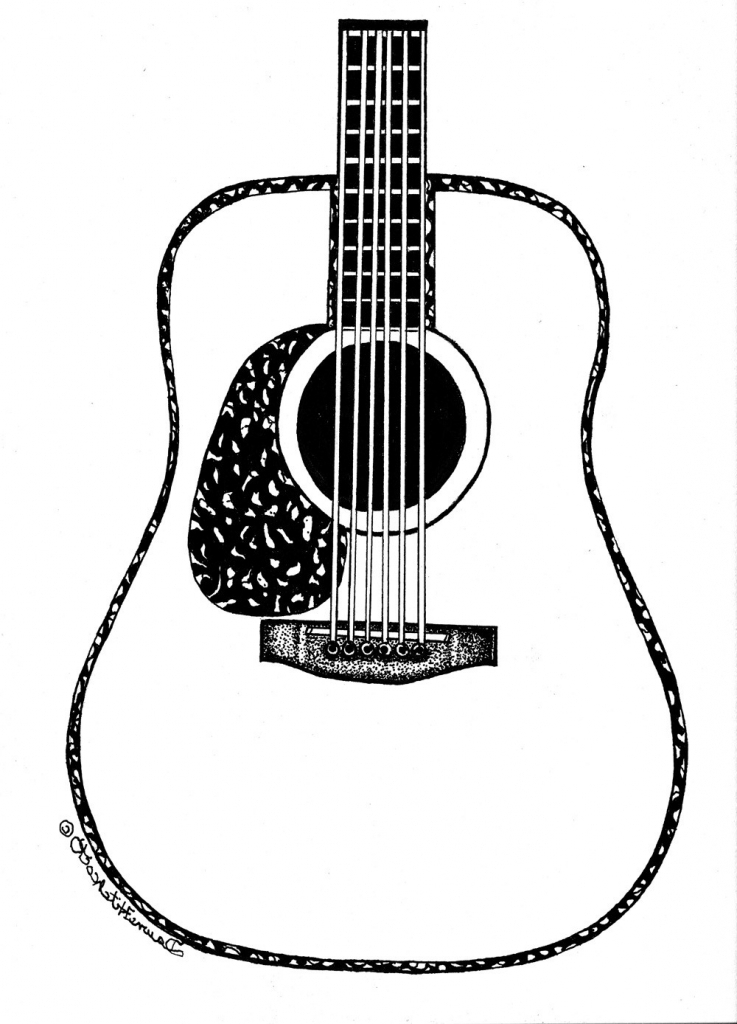 drawing guitar design context technical guitar drawings guitar drawing
