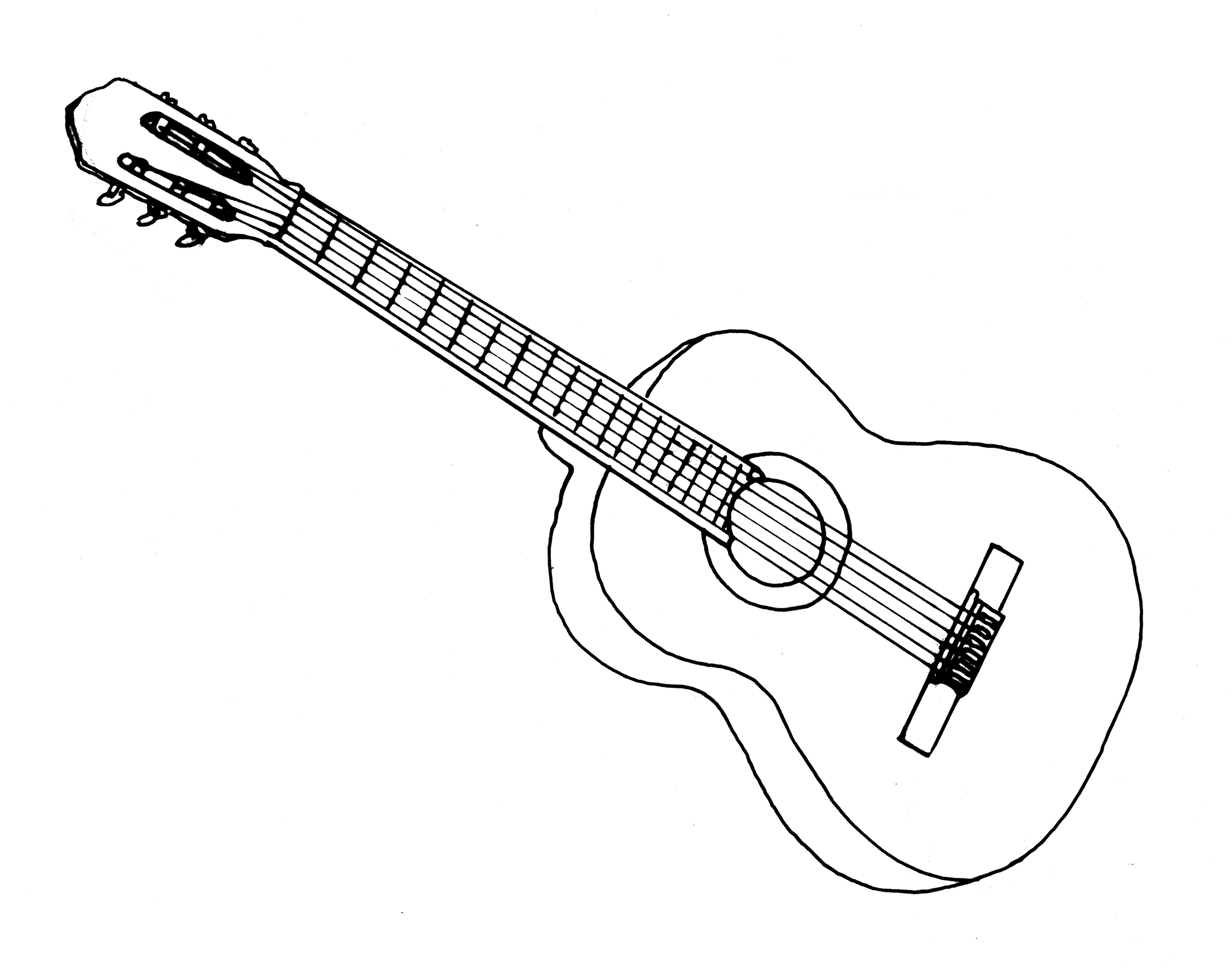 drawing guitar free 9 guitar drawings in ai guitar drawing