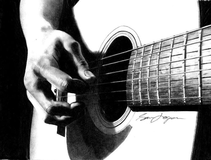 drawing guitar strummin39 guitar drawing guitar drawing pencil drawings drawing guitar