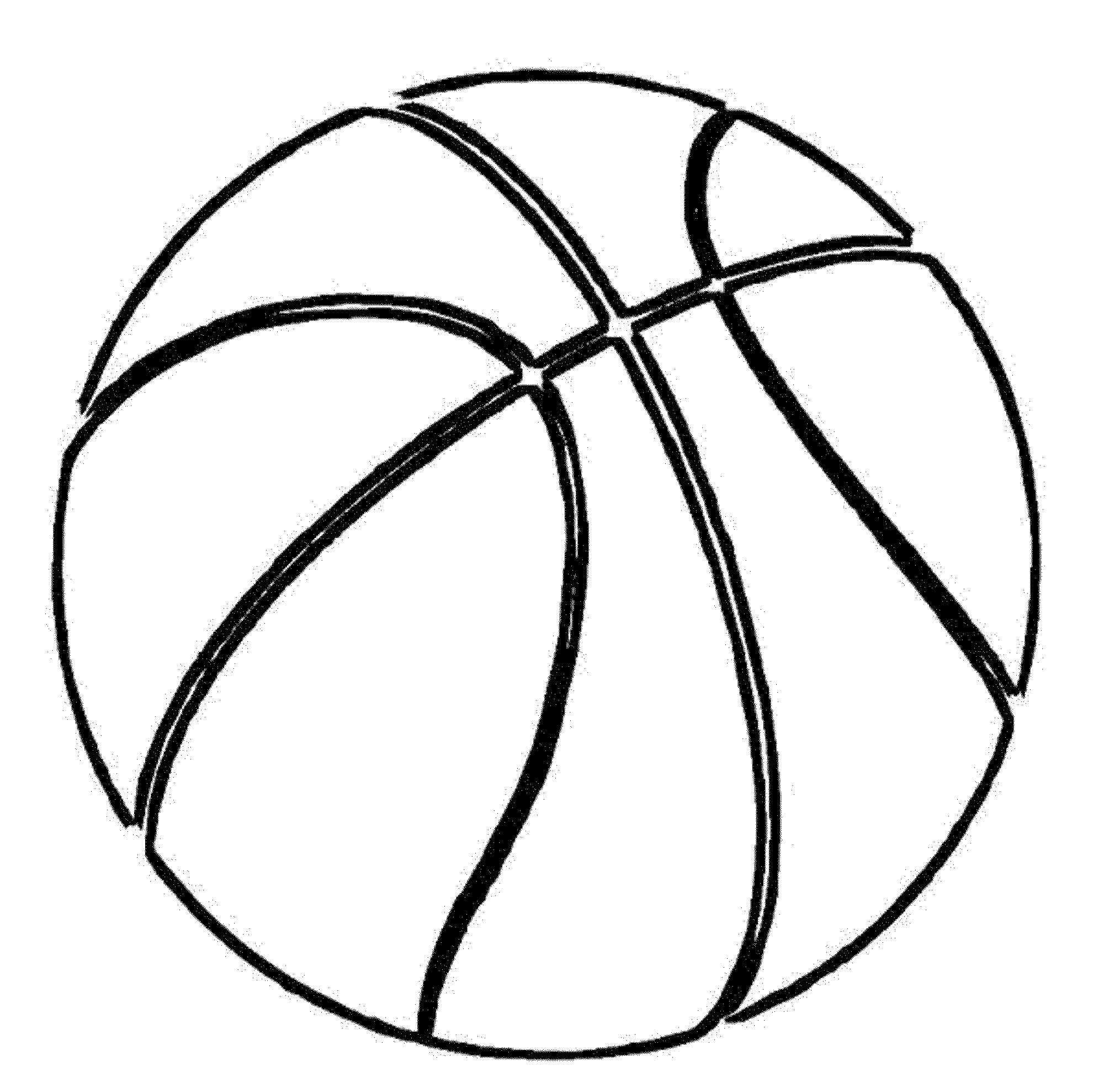 drawing of a basketball basketball ball drawing at paintingvalleycom explore a basketball drawing of