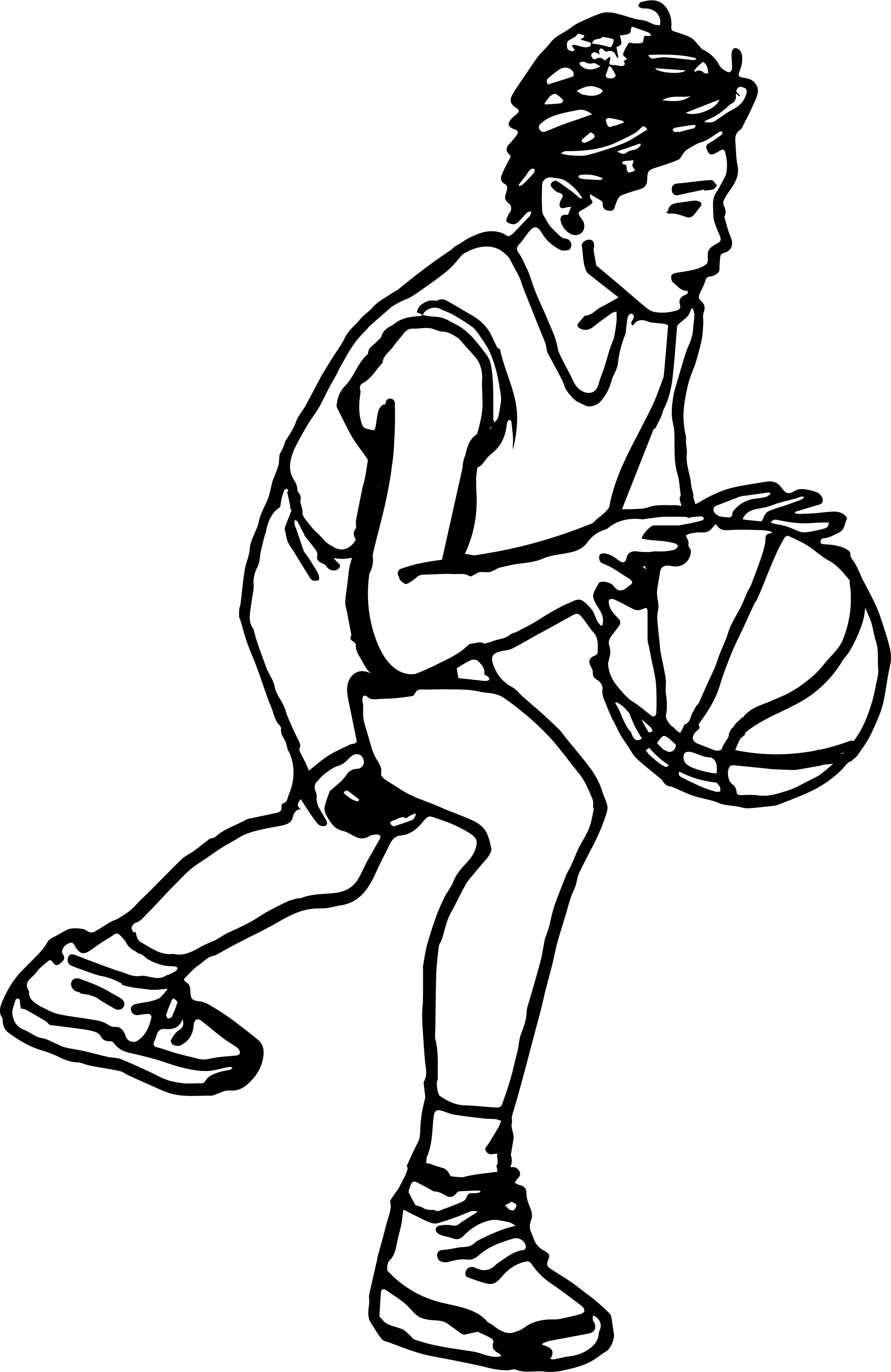 drawing of a basketball basketball line drawing free download on clipartmag a drawing of basketball