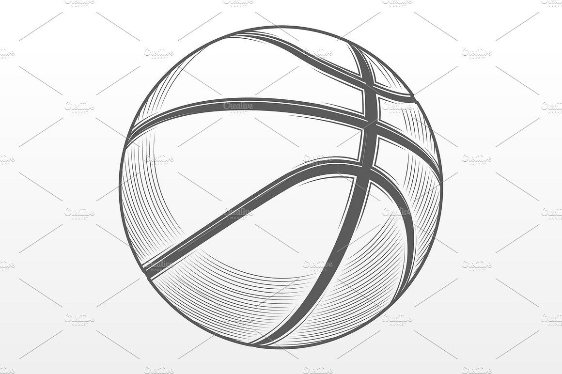 drawing of a basketball drawing of a basketball a of drawing basketball