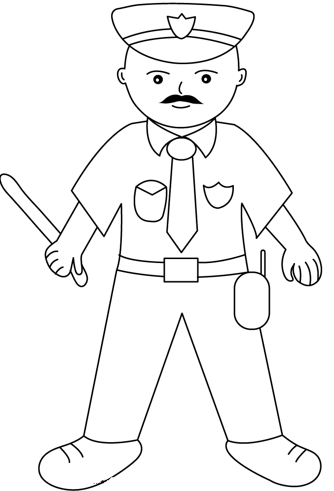 drawing of a police officer police officer drawing at getdrawings free download drawing police officer a of