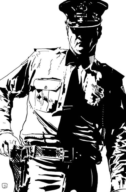 drawing of a police officer police officers drawing at getdrawings free download police officer of drawing a
