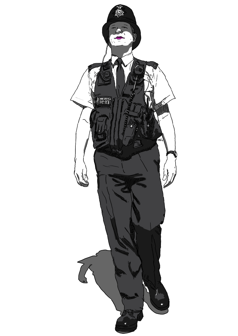 drawing of a police officer policeman drawing at getdrawings free download a officer police drawing of