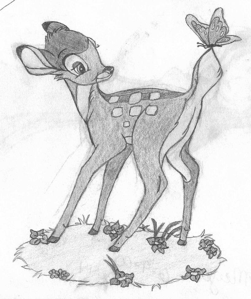 drawings of bambi bambi sketch by rosiewright on deviantart bambi of drawings