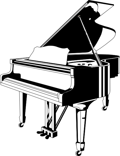 drawings of pianos best piano clipart 9190 clipartioncom of pianos drawings