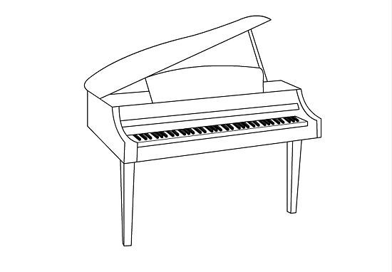 drawings of pianos clip art of a baby grand piano illustrations royalty free drawings pianos of