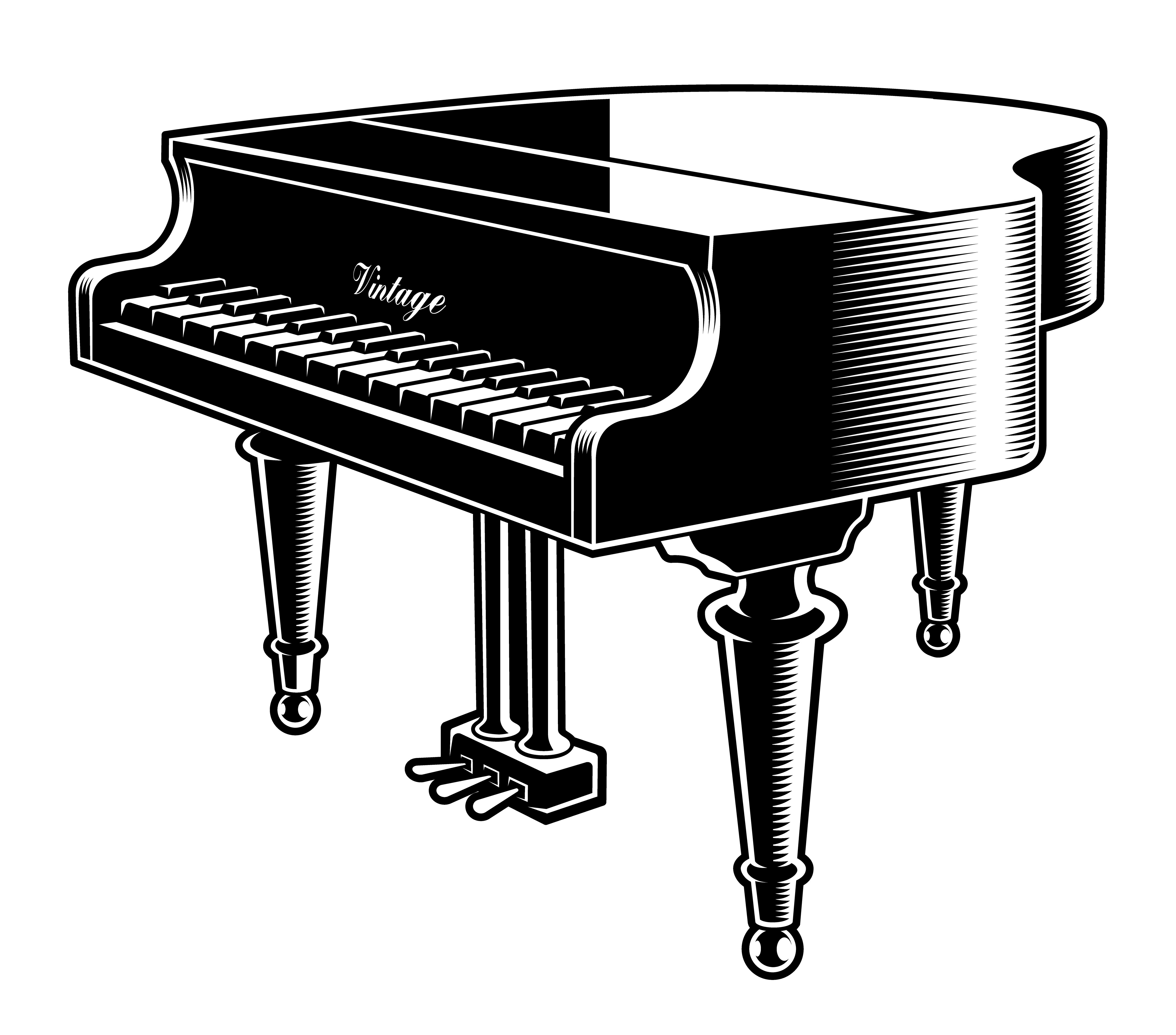 drawings of pianos how to draw a piano drawingforallnet pianos of drawings