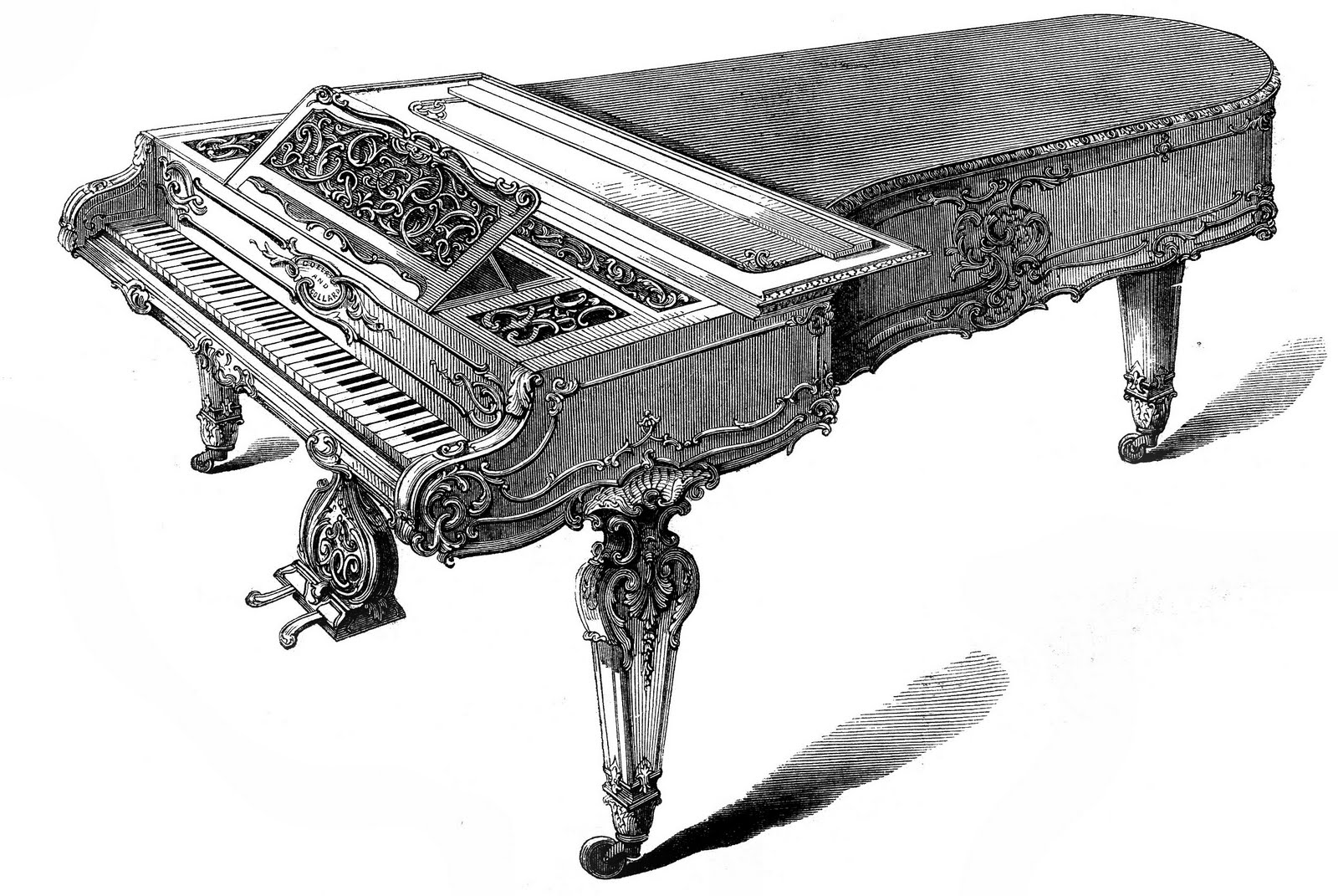 drawings of pianos piano drawing stock illustration download image now istock drawings pianos of