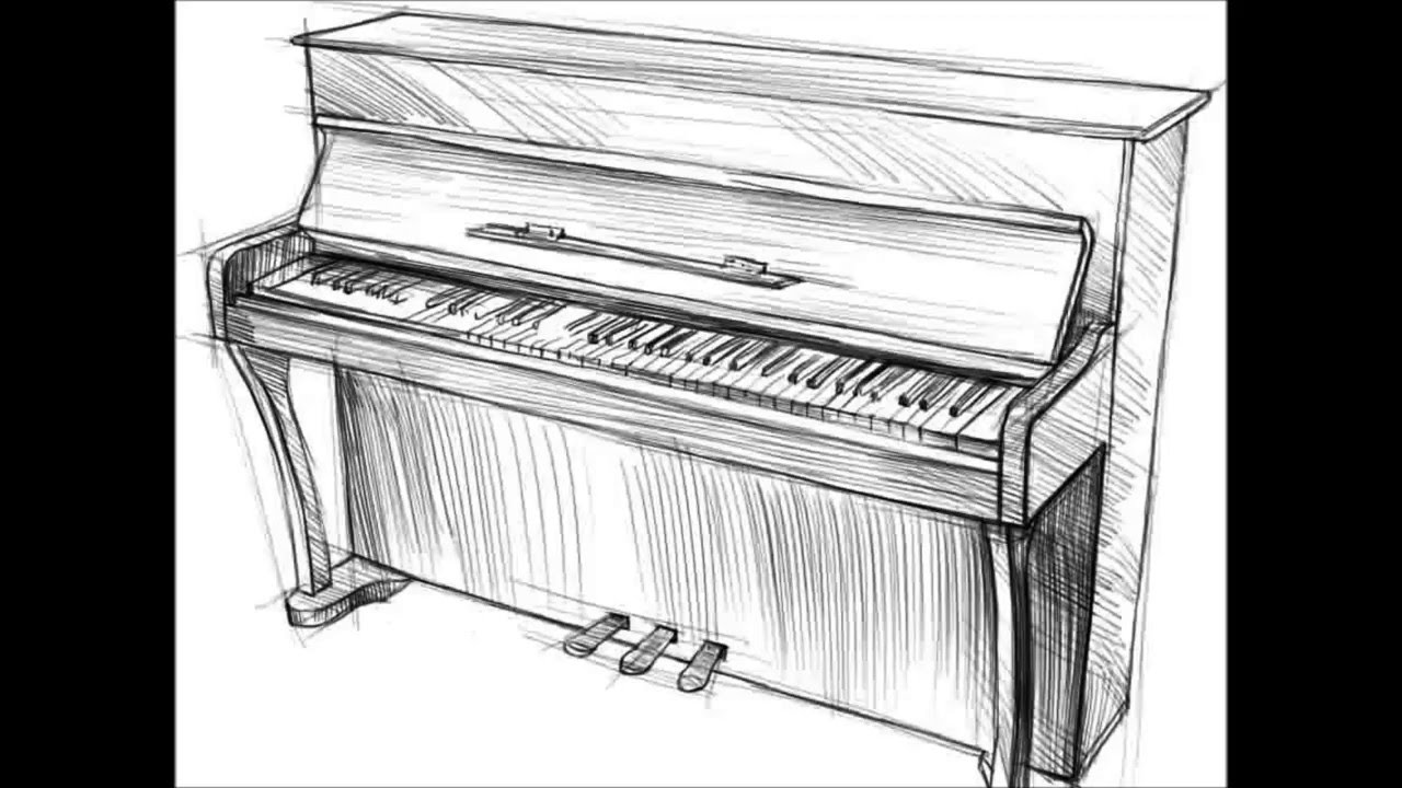 drawings of pianos vector illustration of the piano download free vectors pianos drawings of
