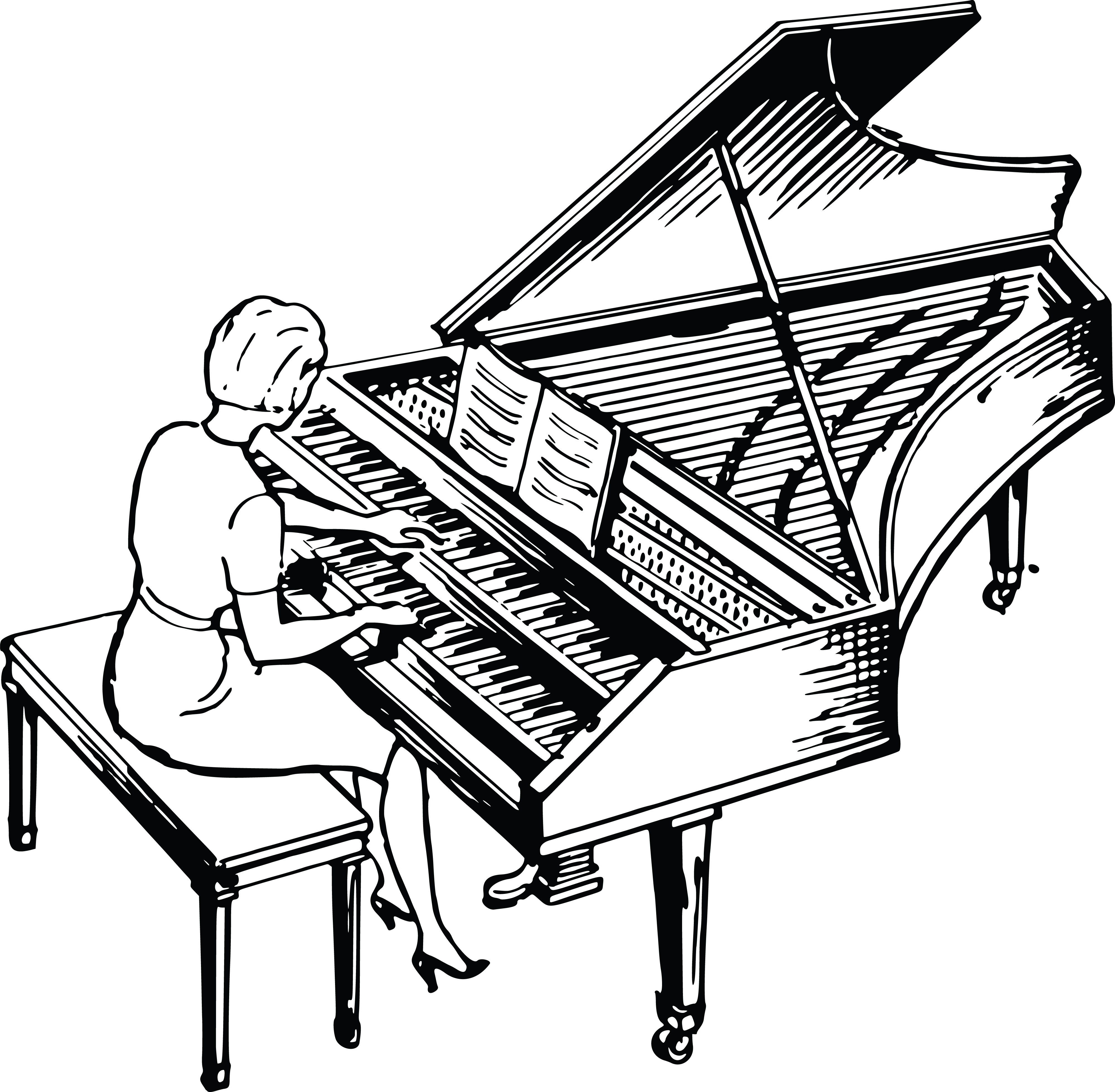 drawings of pianos vintage grand piano image the graphics fairy of pianos drawings