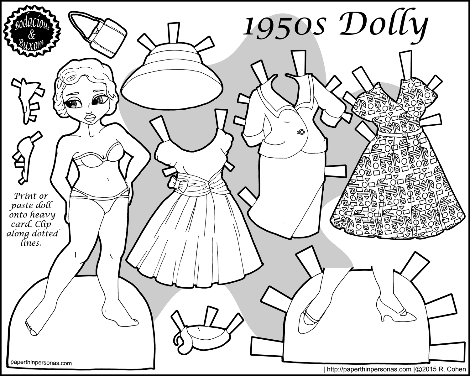 dress up dolls printable full color paper thin personas printable up dolls dress