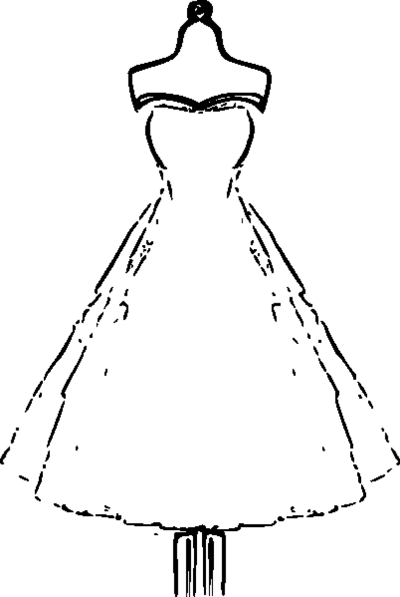 dresses coloring pages dress coloring pages getcoloringpagescom pages coloring dresses
