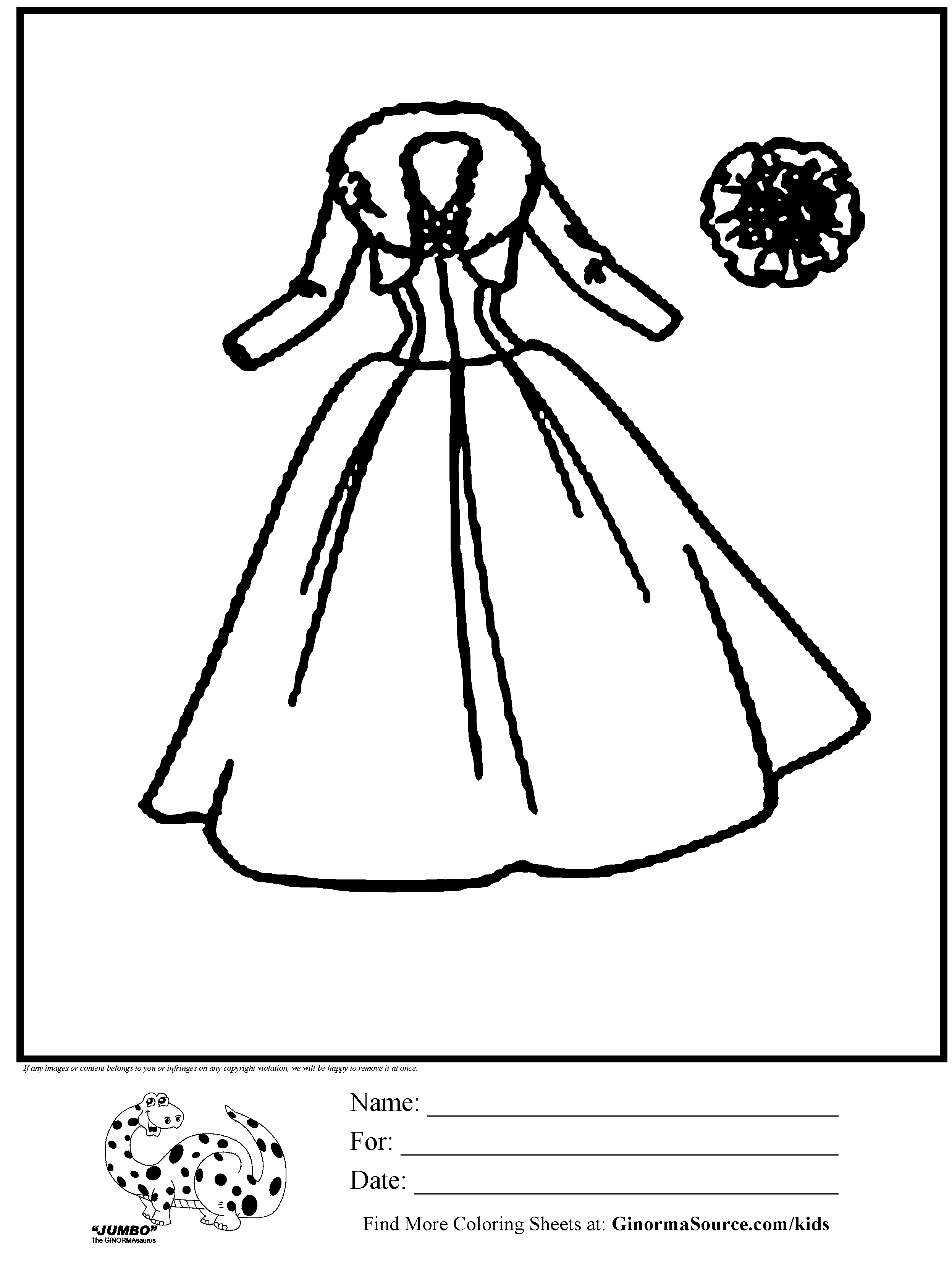 dresses coloring pages dress summer coloring page for girls printable free coloring pages dresses