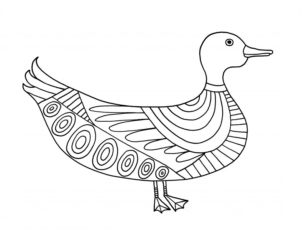 duck coloring pictures printable duck coloring pages for kids pictures duck coloring