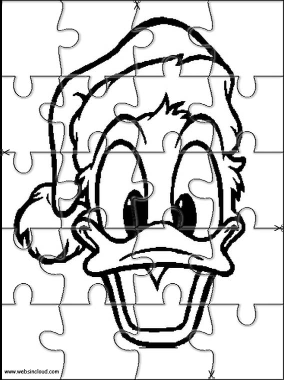 duck jigsaw puzzle daisy duck jigsaw to cut out 16 puzzle duck jigsaw