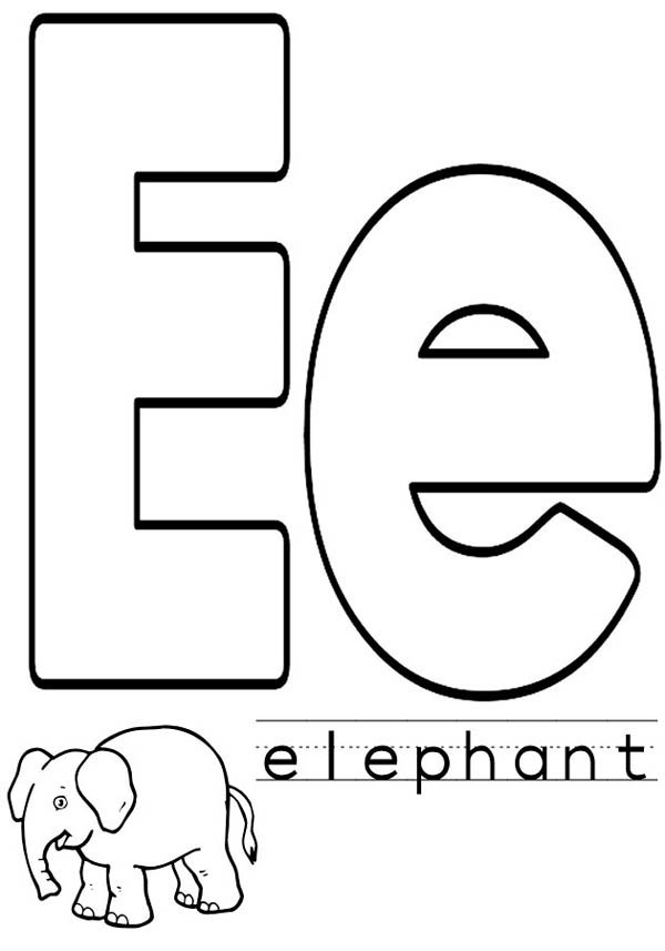 e for coloring alphabet letter e coloring page for e coloring