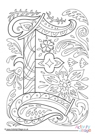 e for coloring instant digital download adult coloring page letter e e coloring for