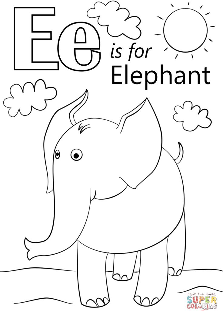 e for coloring letter e coloring pages to download and print for free coloring for e