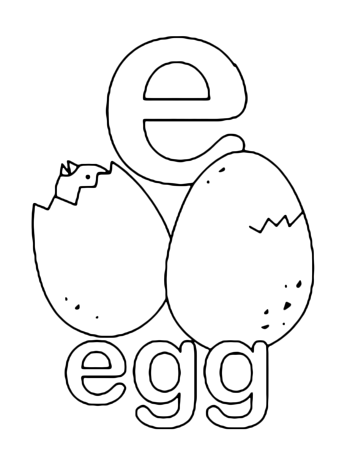 e for coloring letter e with plants coloring page free printable for coloring e