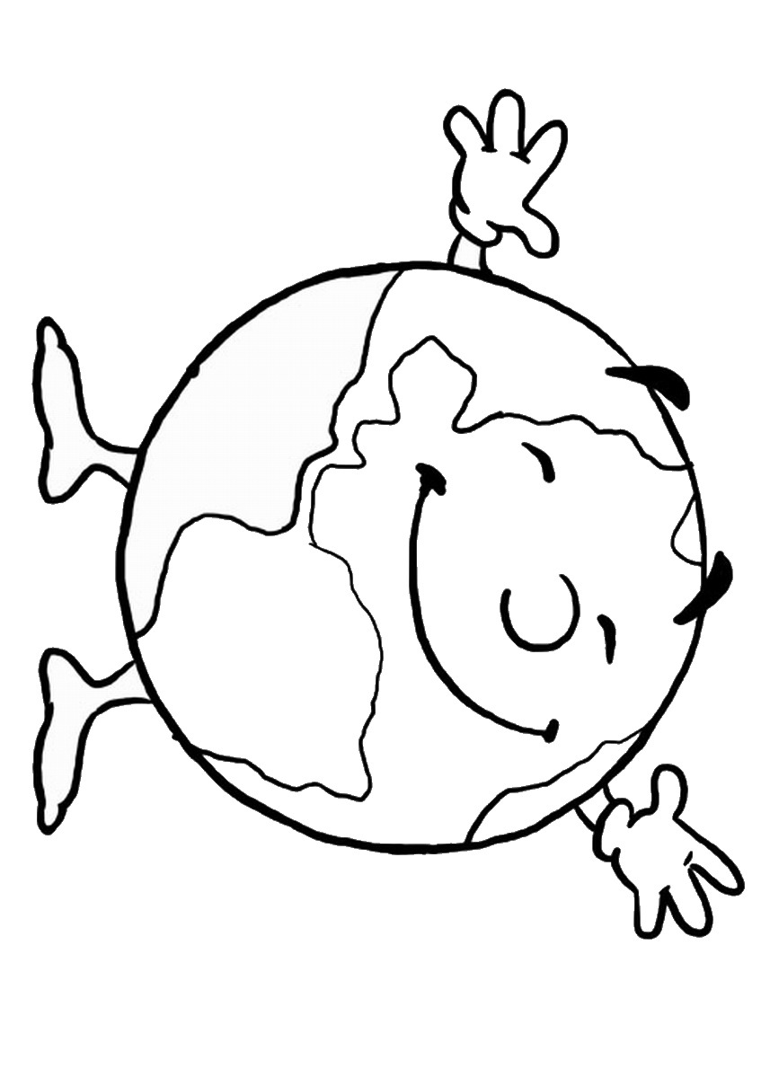 earth coloring sheet earth clipart coloring pages and other free printable earth coloring sheet
