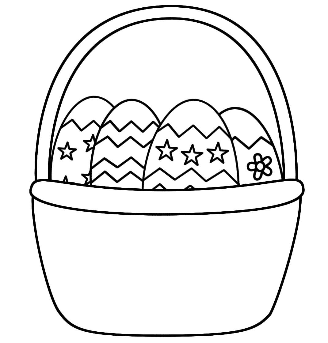 easter basket coloring pages to print easter basket coloring pages free printable easter basket coloring basket pages print to easter