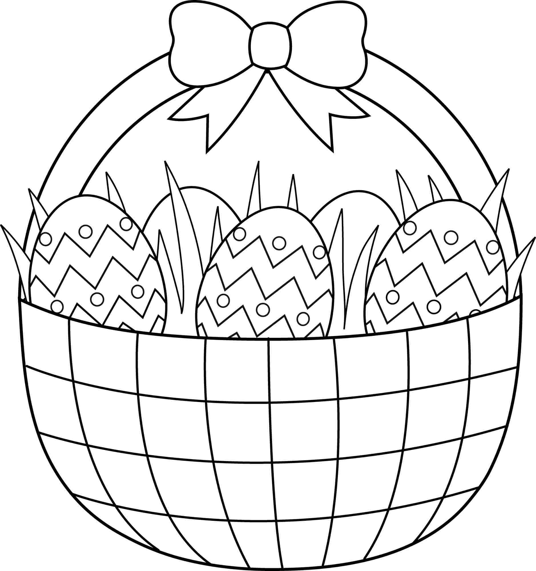 easter basket coloring pages to print easter basket coloring pages free printable easter basket print coloring basket to pages easter