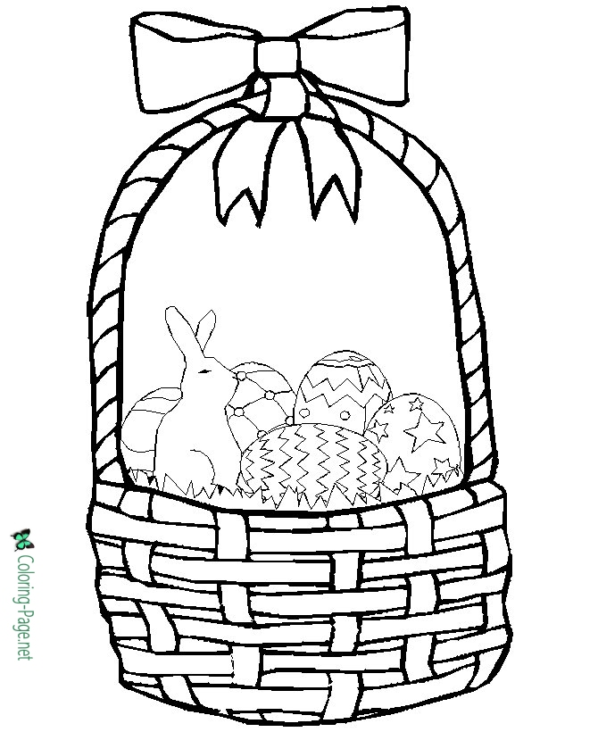 easter basket coloring pages to print easter basket coloring pages part 3 easter coloring basket to print pages