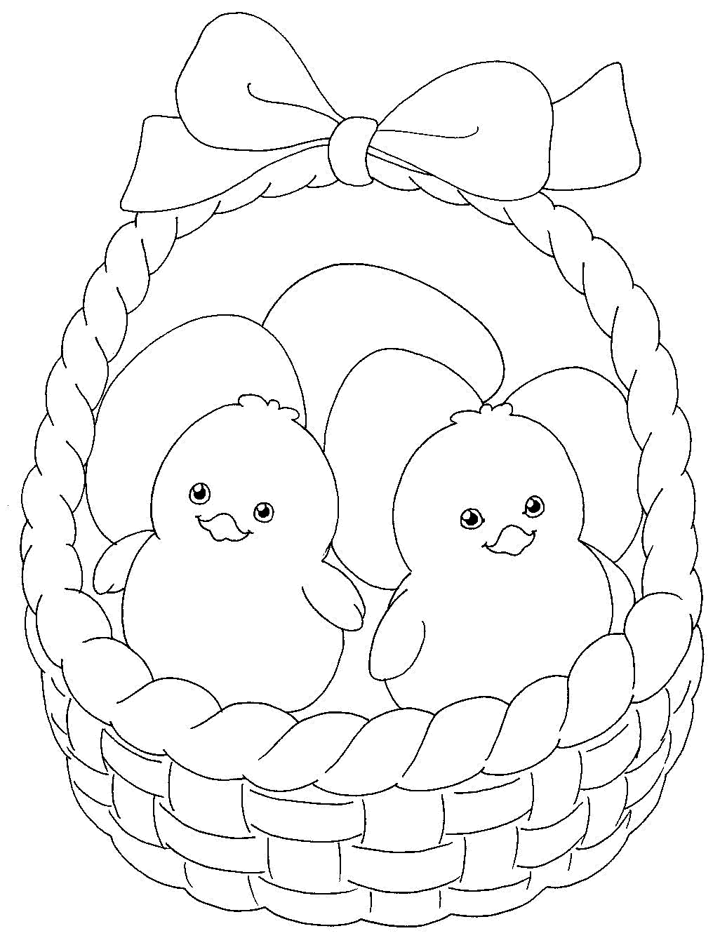 easter basket coloring pages to print empty easter basket coloring page coloring home pages basket to easter coloring print