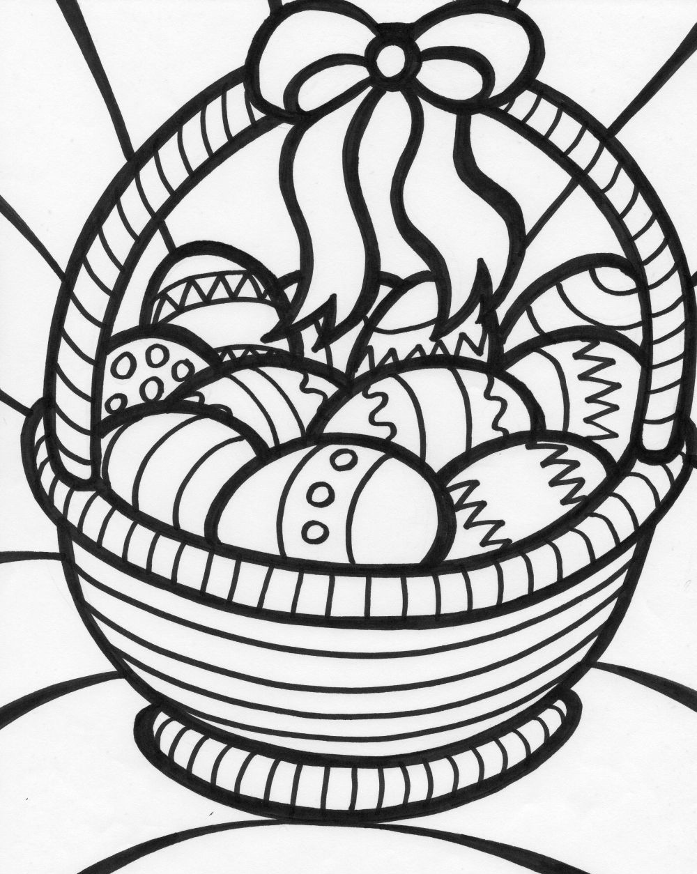 easter basket coloring pages to print empty easter basket coloring page in 2020 easter basket coloring print to pages easter basket