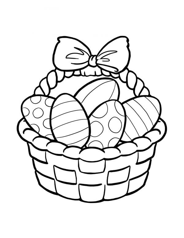 easter basket coloring pages to print free easter basket coloring pages printable to coloring pages easter basket print