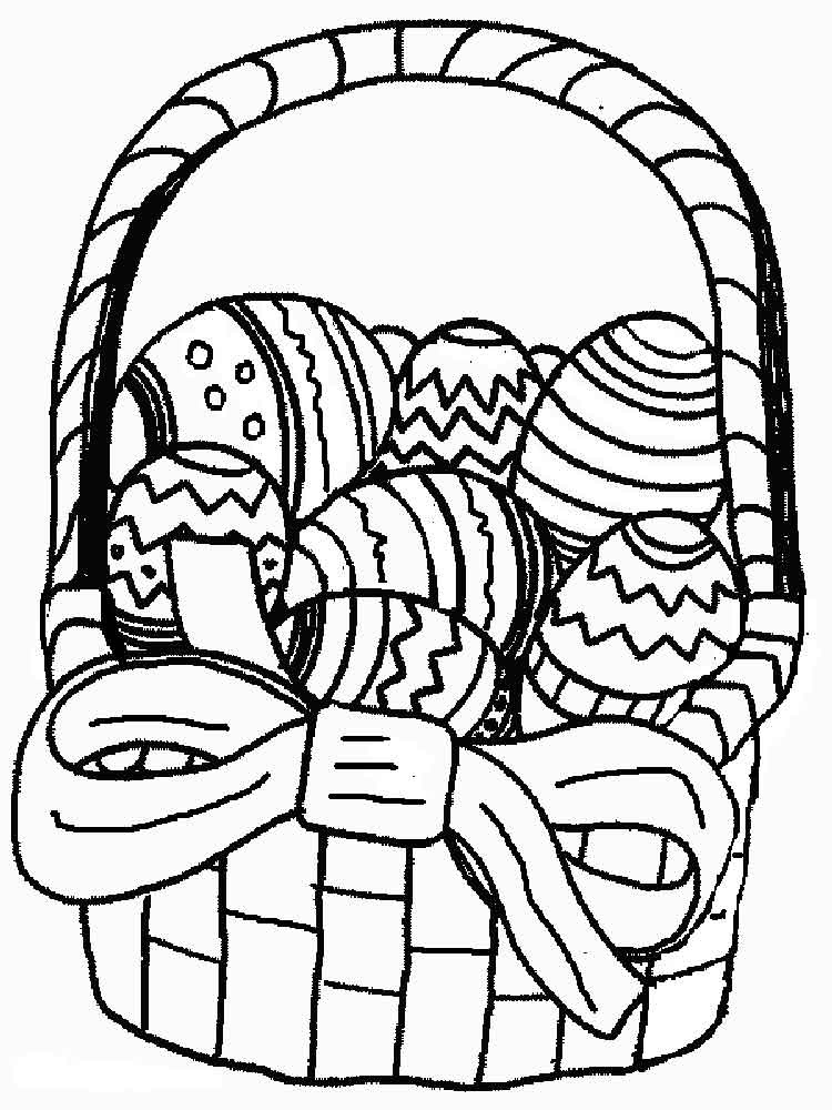 easter basket coloring pages to print printable easter basket coloring page coloring basket pages to easter print