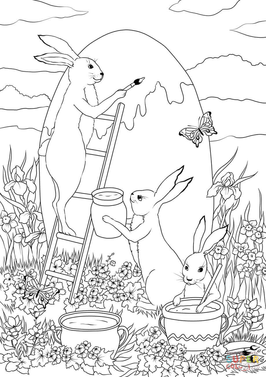 easter bunny pictures to color easter bunnies coloring pages get coloring pages bunny pictures easter color to
