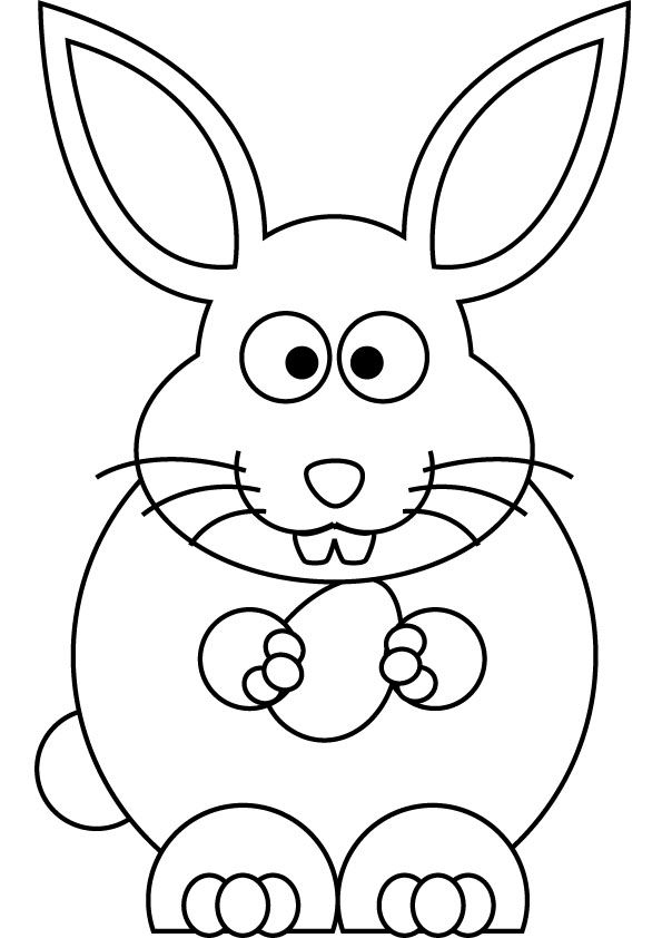 easter bunny pictures to color easter bunny rabbit coloring pages bunny color easter to pictures