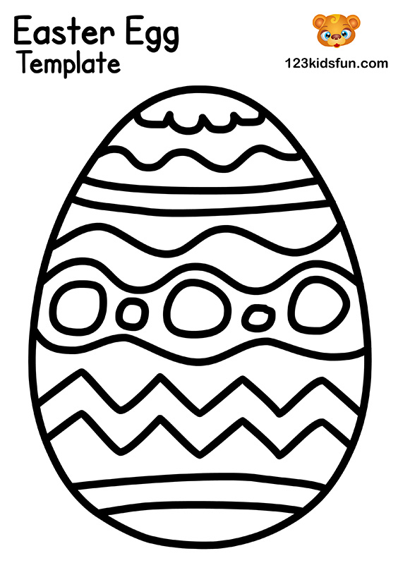 easter egg templates 45 inch easter eggs template printable easter eggs easter egg templates easter