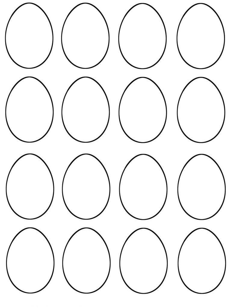 easter egg templates large easter egg patterns coloring page egg easter templates