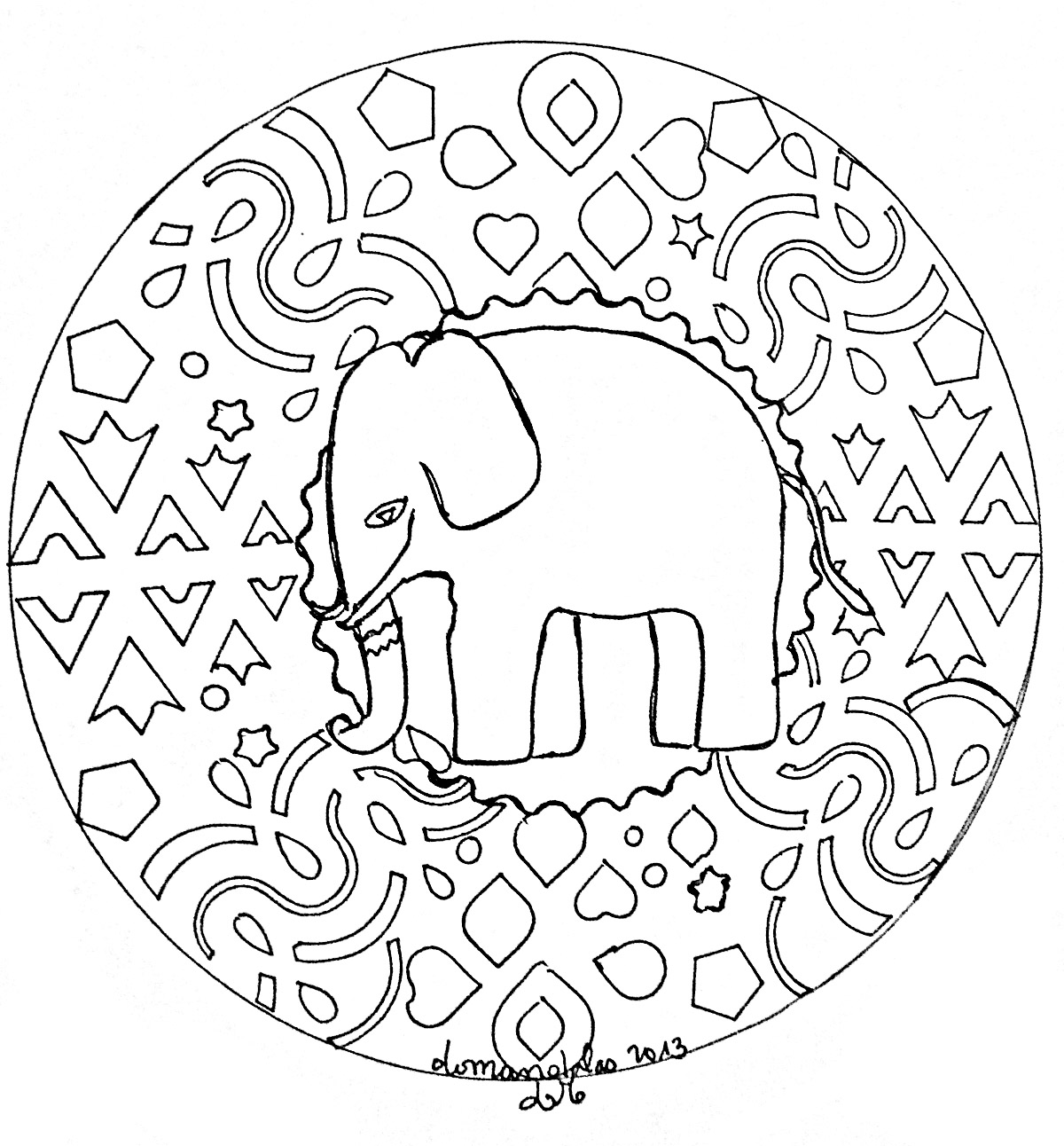 easy animal mandala coloring pages image result for mandala pig animal coloring pages pages coloring animal mandala easy