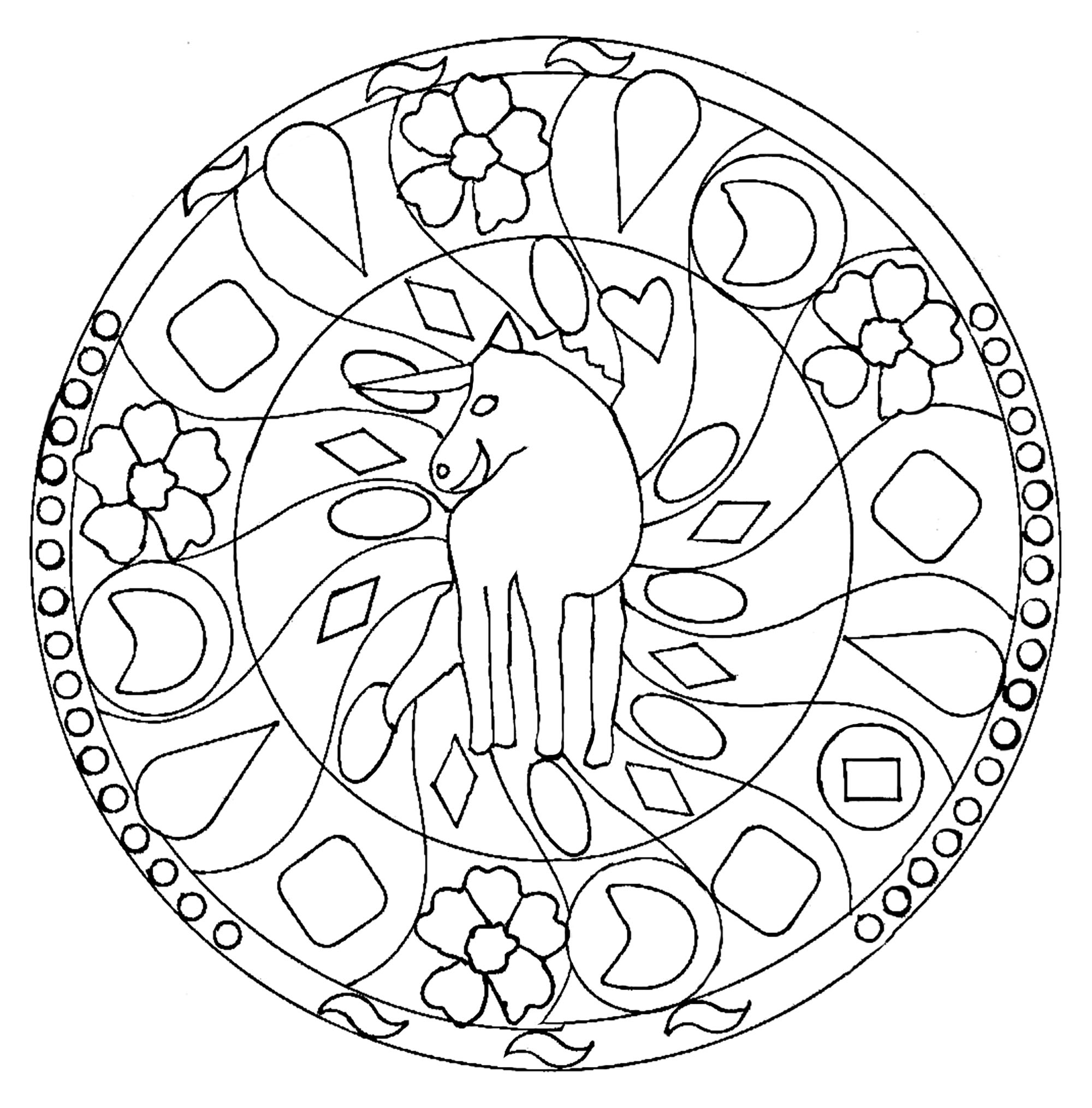 easy animal mandala coloring pages turtle animals coloring pages 100 mandalas zen anti mandala pages easy coloring animal