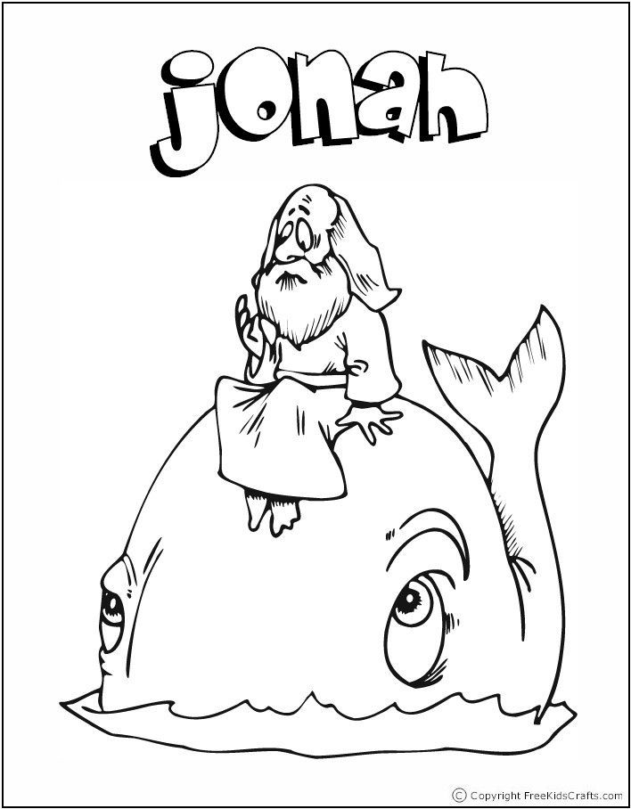 Easy bible coloring pages