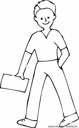 easy boy coloring pages little boy coloring page boy coloring easy pages