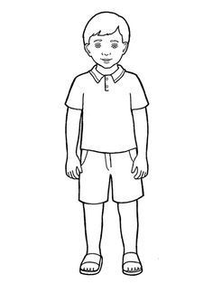 easy boy coloring pages printable coloring pages for boys at getdrawings free pages boy easy coloring