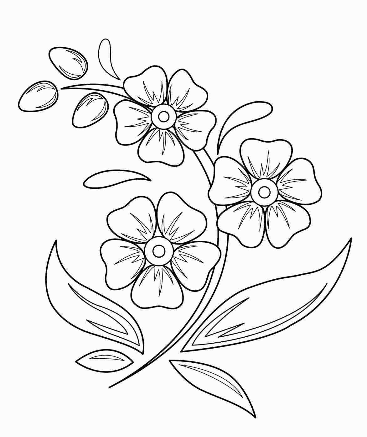 easy cute rose coloring pages free rose flower drawing download free clip art free coloring easy rose pages cute