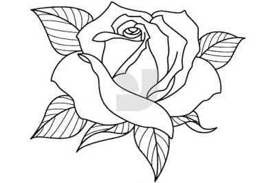 easy cute rose coloring pages lily flowers drawing at getdrawings free download cute easy rose coloring pages