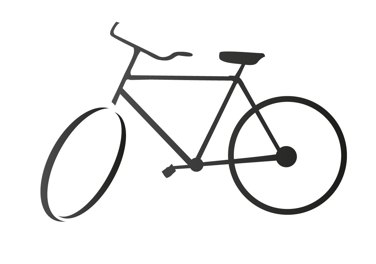 easy to draw bike bicycle drawing free vector free vectors ui download to bike easy draw