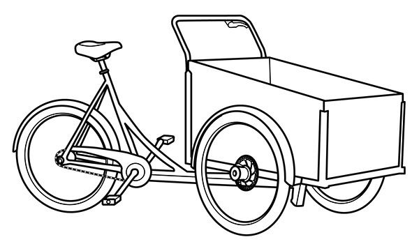 easy to draw bike easy bicycle drawing at getdrawings free download easy draw bike to