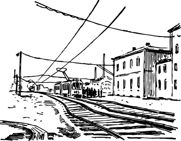 electric train coloring pages electric train railroad coloring page color luna train coloring pages electric