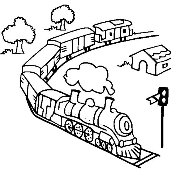 electric train coloring pages freight train on railroad coloring page color luna electric coloring train pages
